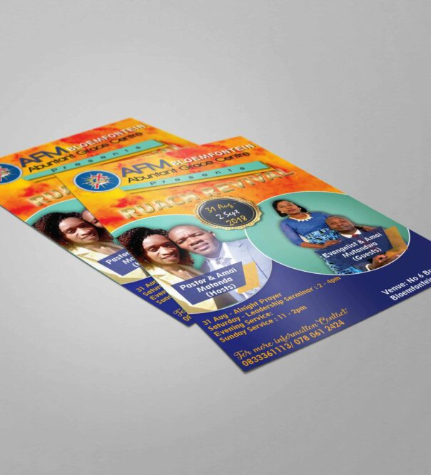 flyer design pretoria
